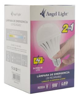 Bombillo Recargable Led De Emergencia 9w E27 Lampara