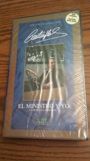 Cantinflas El Ministro Y Yo Pelicula Vhs