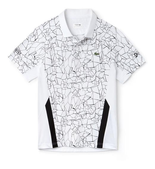 Exclusivo! Camiseta Pólo Lacoste Sport Novak Djokovic 2019
