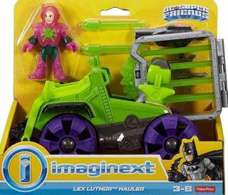 Lex Luthor Remolque Imaginext Figura Y Vehículo Original