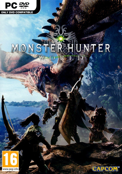 Monster Hunter World Pc Steam Key Código 15 Dígitos Imediato