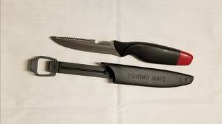 Cuchillo Para Filetear Y Descamar 11 Cm Con Vaina