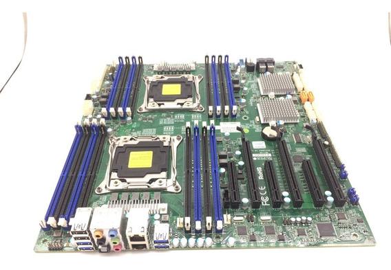 Placa Mãe Supermicro X10dac Lga 2011-3 Dual Xeon V3/v4