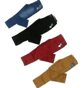3 Calça Jeans Infantis Masculino Infantil Menino Skymmy Slim