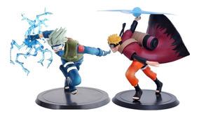 Naruto E Kakashi Action Figure Boneco Brinquedo 2pçs