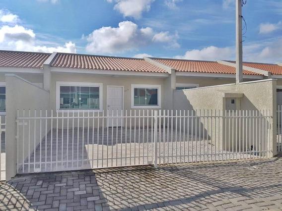 Casa Em Quississana, São José Dos Pinhais/pr De 63m² 3 Quartos À Venda Por R$ 190.000,00 - Ca426942