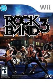 Rock Band 3 Wii Juego Solamente Nuevo Citygame