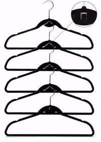 Cabides Em Veludo Kit Com 60 Para Camisa Terno Camiseta Seda