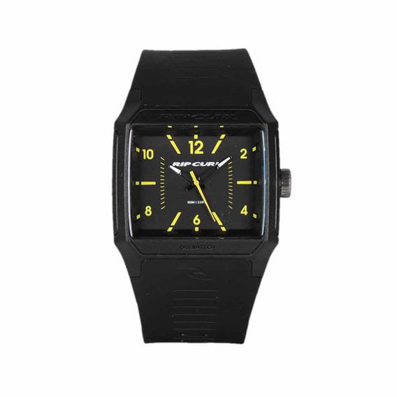 Relógio Rip Curl Square Black Yelow Original