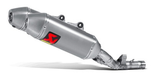 Escape Akrapovic S-h2so5-qta Moto Honda Crf 250 R