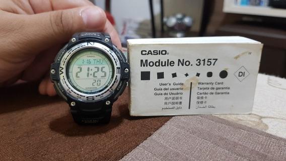 Relógio Casio Outgear Sgw100 Bússola Digital Termômetro