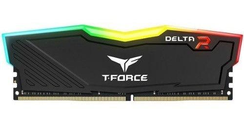 Memória Tforce Delta Rgb 8gb 2666mhz Ddr4 Tf3d48g2666hc15b01