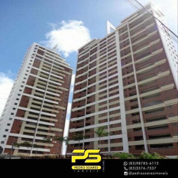 Apartamento Com 3 Dormitórios À Venda, 84 M² Por R$ 475.000 - Bairro Dos Estados - João Pessoa/pb - Ap3237