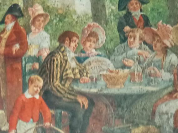 Antigua Lata De Galletitas De Confiserie Demaret