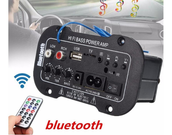 Placa Decodificadora Amplificada Bluetooth Usb Mp3 Promoção