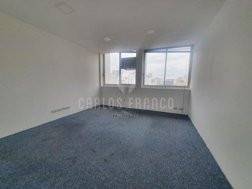 Conjunto Comercial De 70m², Recepção, 2 Salas, Copa, Banheiro Na Bela Vista - Cf67109