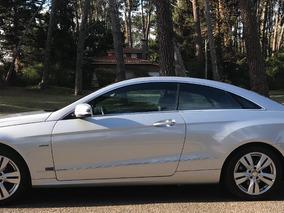 Dueño Mercedes Benz Clase E Cgi 2013 Automático Secuencial