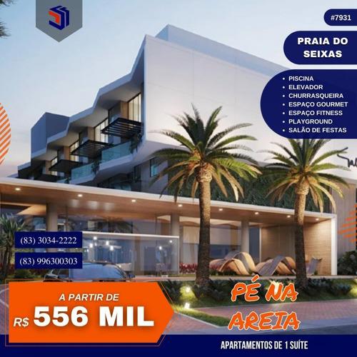 Apartamento Para Venda Em João Pessoa, Seixas, 2 Dormitórios, 1 Suíte, 2 Banheiros, 1 Vaga - 7931_1-1577635