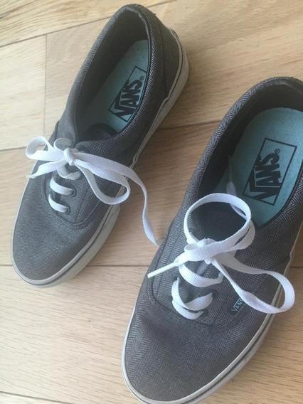 Zapatillas Vans Color Gris