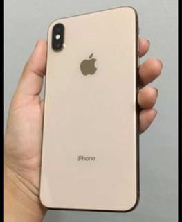 iPhone Xs Max 256g Gold Na Garantia, Carregador, E Fone Orig