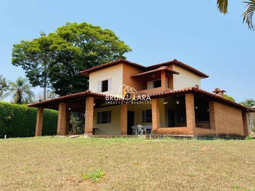 Casa À Venda No Cond. Fazenda Solar Em Igarapé - Ibl1536