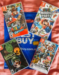 Bundle Kit De Juegos Nintendo Switch Originales