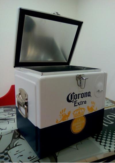 Heladera A Hielo Cerveza Corona . Realiza Tu Oferta -