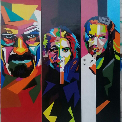 Graffiti, Pinturas Decorativas