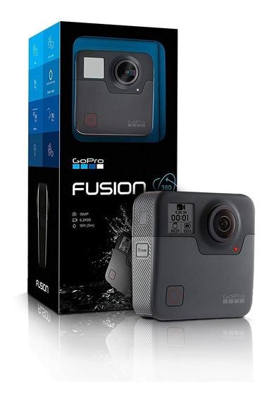 Camera Digital Gopro Fusion Black Ultra Hd 18mp 5,2k Go Pro