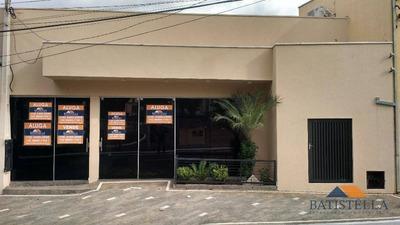 Salão Comercial Para Venda E Locação, Vila Queiroz, Limeira. - Sl0034