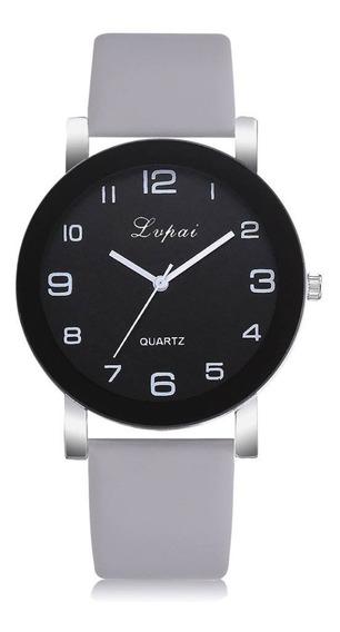 Relógio Original Lvpai De Luxo Pulseira Couro Modelo