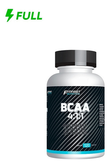 Bcaa 4:1:1 Fit Fast Nutrition 120 Tabletes