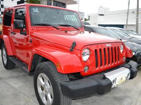 Jeep Wrangler 3.6 3p Sahara V6 4x4 At
