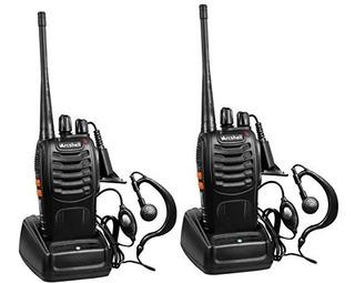 Kit 2 Radios De Dos Vías Arcshell Uhf 400-470mhz Auricular