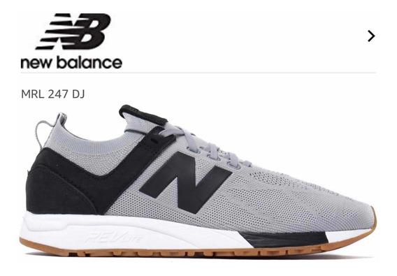 Zapatillas New Balance Mrl247rg Gris Talle 10 (talle 43)