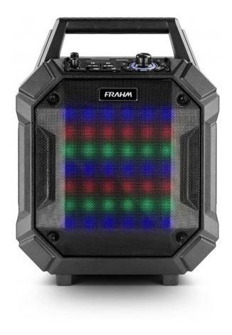 Caixa De Som Amplificada Emborrachada Pb400 Bt Frahm