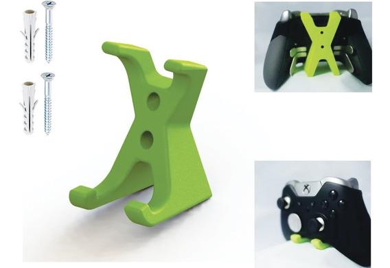Kit Suporte De Parede Para Controle Xbox One , One S E One X E Suporte Headset Headphone