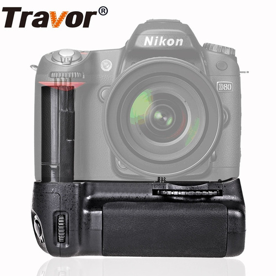 Battery Grip Travor Bg-2c P/ Camera Nikon D80 D90