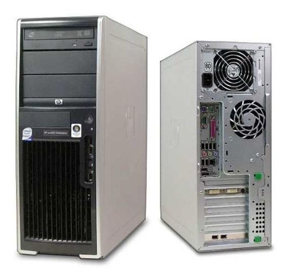Servidor Workstation Hp Xw4600 Core 2 Quad 8gb Ram Hd 250gb