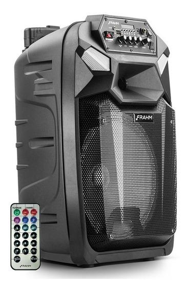 Caixa Som Amplificada Multiuso Frahm Cm 650 Bt 350w Karaoke