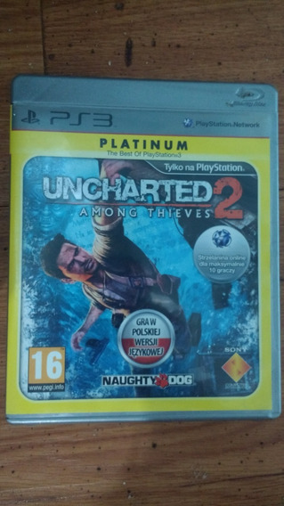 Uncharted 2. Midia Física Blu-ray, Frete Gratis