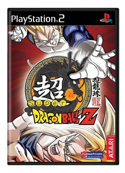 Super Dragon Ball Z Ps2 Mídia Física Pronta Entrega