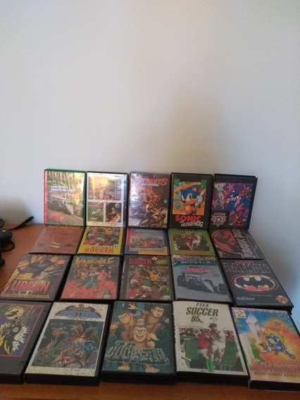 Vendo Lote De Caixa Para Mega/snes