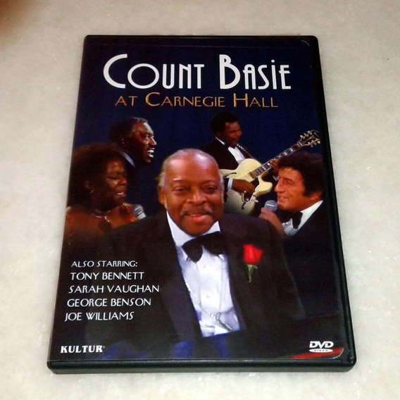 Dvd Count Basie At Carnegie Hall - Usado Original Usa
