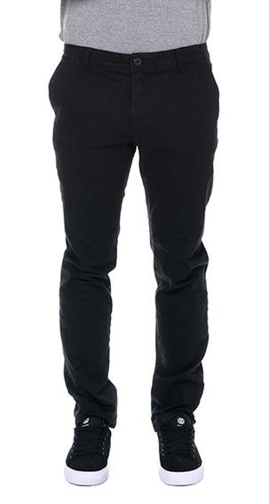 Pantalón Element Howland Pant Black Hombre