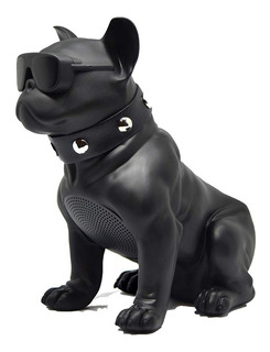 Parlante Portatil Recargable Bulldog Frances Bluetooth Sd