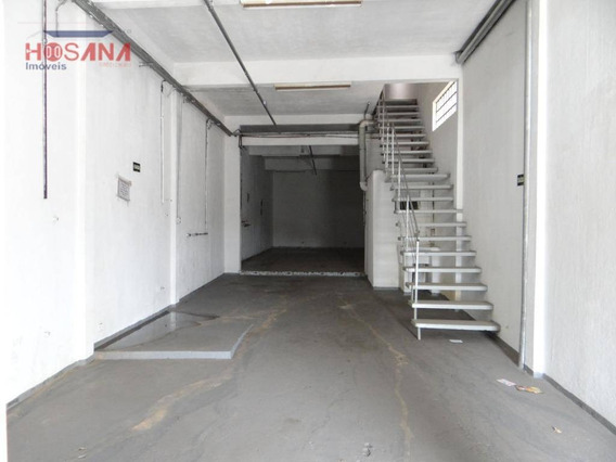 Salão Para Alugar, 300 M² Por R$ 3.300/mês - Jardim Marcelino - Caieiras/sp - Sl0056