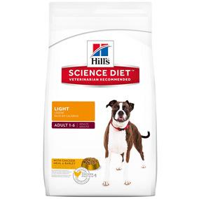 Alimento Perro Croquetas Adulto Light 7.9 Kg Hill