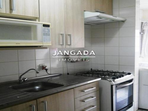 Apartamento No Condominio Edificio Guaruja. - 10459