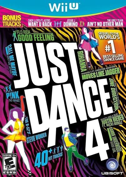 Just Dance 4 Nintendo Wii U Mídia Física Original